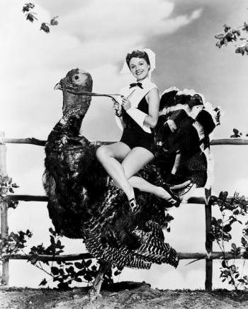 Turkey Day Pin-up