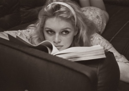 Brigitte Bardot Reading